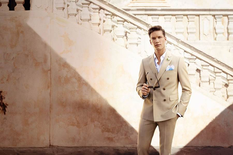 Men's Dressing Styles:Romantic Type